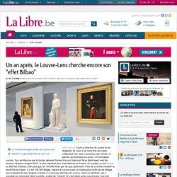 """Un an après, le Louvre-Lens cherche encore son """"effet Bilbao"""""""