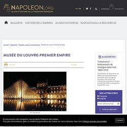 Musée du Louvre-Premier Empire - napoleon.org