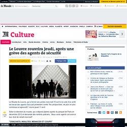 Le Louvre rouvre, après une grève des agents de sécurité