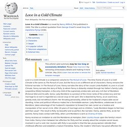 Love in a Cold Climate - Wikipedia