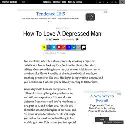 How To Love A Depressed Man