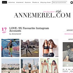 Love, Live, Embrace Life... ANNEMEREL.COM