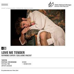 Love me tender - NOV 2018