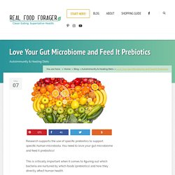 Love Your Gut Microbiome and Feed It Prebiotics