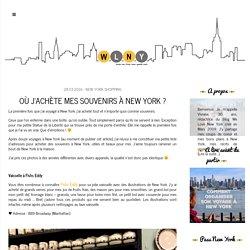 We Love New York Où j'achète mes souvenirs à New York ? » We Love New York