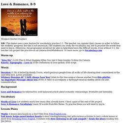 Love & Romance, 8-9