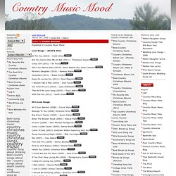Country Music Mood - StumbleUpon