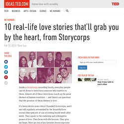 10 love stories that'll grab you by the heart, from Storycorps