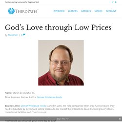God's Love through Low Prices