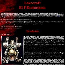 Lovecraft Et l'Esotérisme