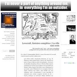 Lovecraft, histoires complètes