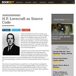 H.P. Lovecraft as Source Code