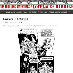 Lovelace– The Origin | 2D Goggles