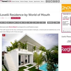 Lovelli Residence by World of Mouth