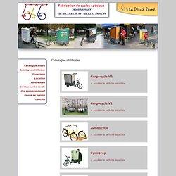 Fabrication de cycles, vélos spéciaux
