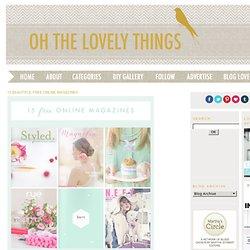 15 Beautiful Free Online Magazines