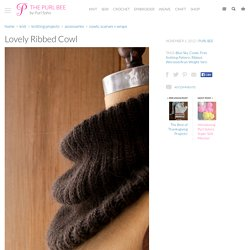 Lovely Ribbed Cowl
