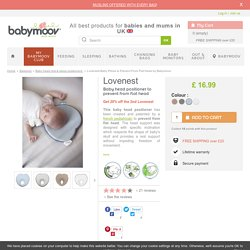 Lovenest Baby Pillow to Prevent From Flat Head by Babymoov
