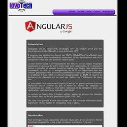 Veille Angular présentée par Lovotech