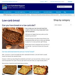 Low Carb Support Shop