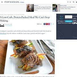 Low-Carb Paleo Steak Wraps