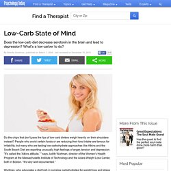 Low-Carb State of Mind