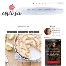 Low Fat Apple Cake - As Easy As Apple Pie