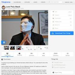 Low Poly Mask by kongorilla