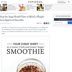 Low-Sugar Smoothie Ingredients