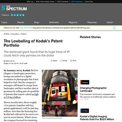 The Lowballing of Kodak's Patent Portfolio