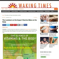 The Lowdown on the Impact Vitamins Make on the Body : Waking Times