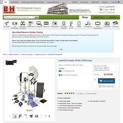 Lowel DV Creator 55 Kit, TO-83 Case DV-903Z B