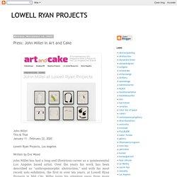 John Millei in Art and Cake