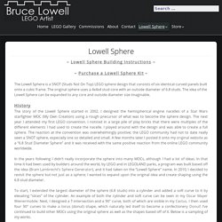 Lowell Sphere – Bruce Lowell