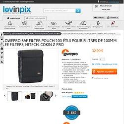 Lowepro S&F Filter Pouch 100 étui pour filtres de 100mm Lee Filters, Hitech, Cokin Z pro