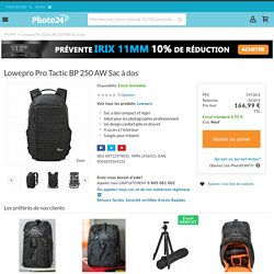 Lowepro Pro Tactic BP 250 AW Sac à dos