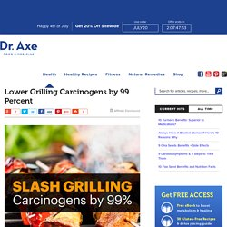 Lower Grilling Carcinogens by 99% - Dr. Axe