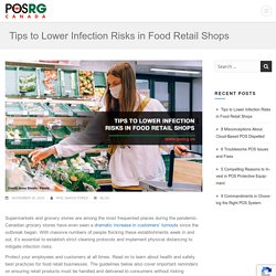 Tips to Lower Infection Risks in Food Retail Shops