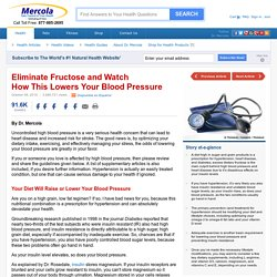 Lowering Blood Pressure - A 15 Minute Heart Cure