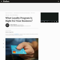 What Loyalty Program Is Right For Your Business?
