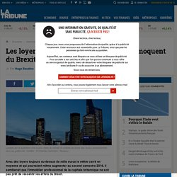 Les loyers des gratte-ciel londoniens se moquent du Brexit