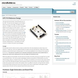 LPC1114 Reference Design