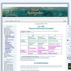 LPG - La page du CDI - TPE