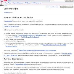 LSBInitScripts