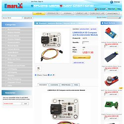 LSM303DLH 3D Compass and Accelerometer Module - emartee.com