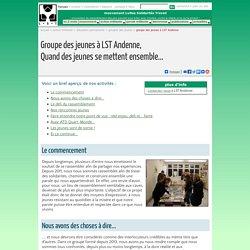 LST - Groupe des jeunes à Andenne