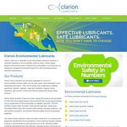 Environmental Lubricants