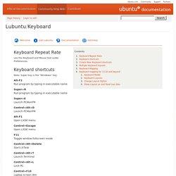 Lubuntu/Keyboard