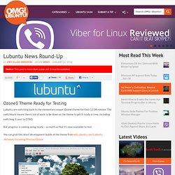 Lubuntu News Round-Up