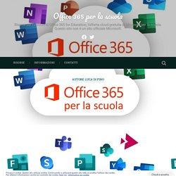 Luca Di Fino – Office 365 per la scuola